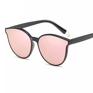 New High Quality Reflective Cat Eye Sunglasses